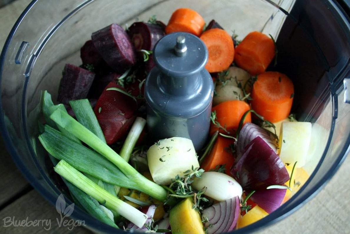 Zutaten Gemüsestrudel