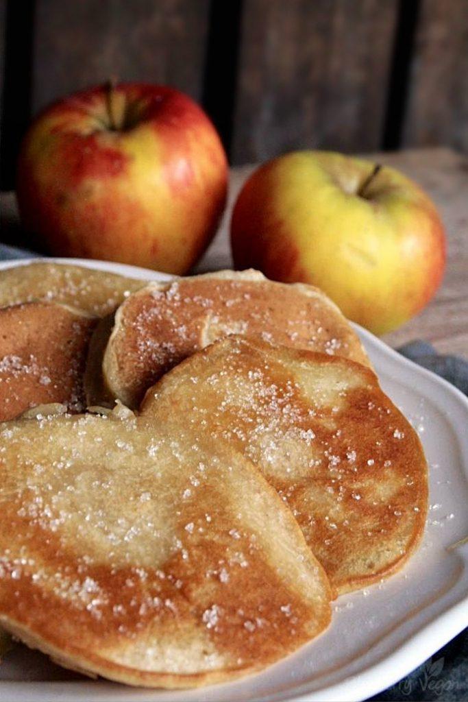 Leckere Apfelküchlein