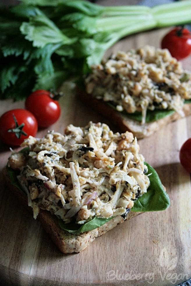 Veganer Jackfruit-Thunfischsalat