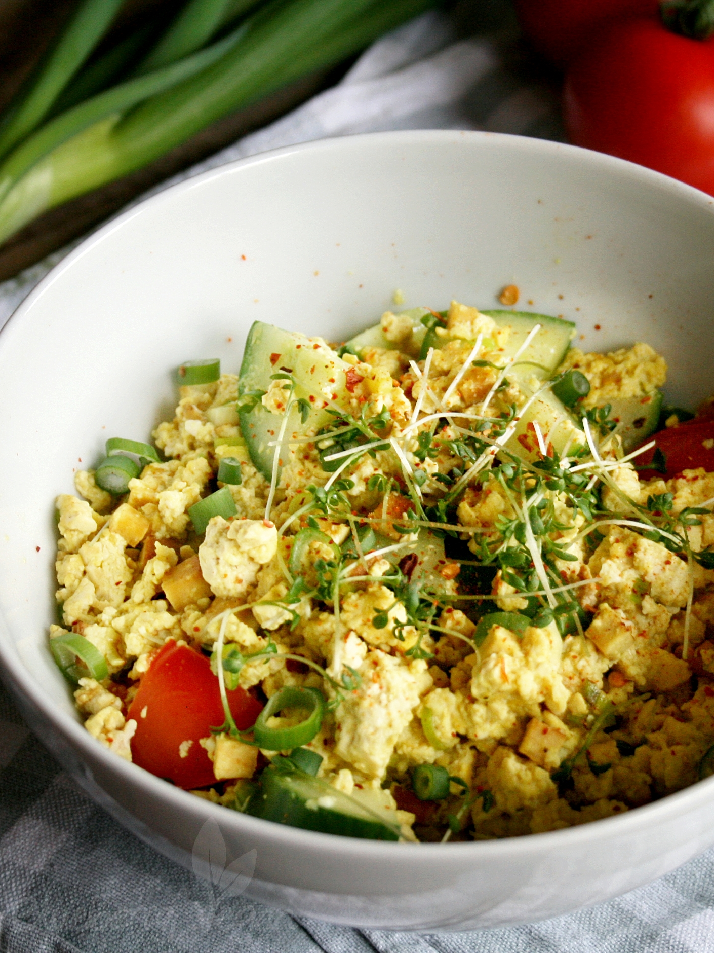 Hearty Scrambled Tofu
