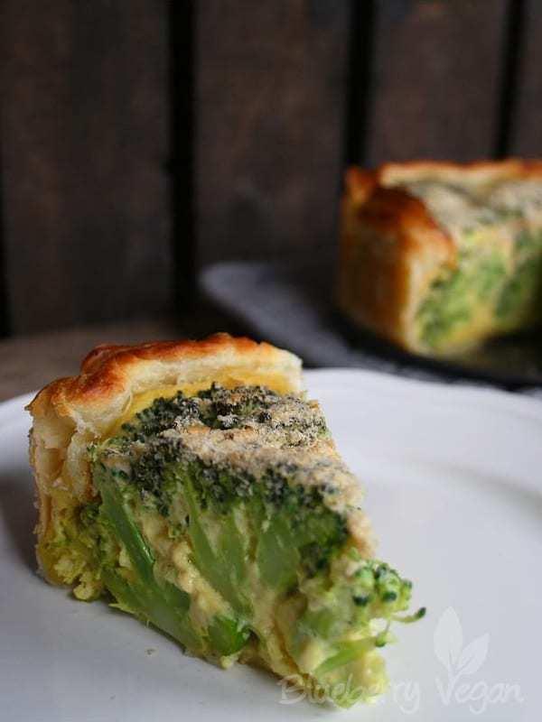 Herzhafte Brokkoli-Torte