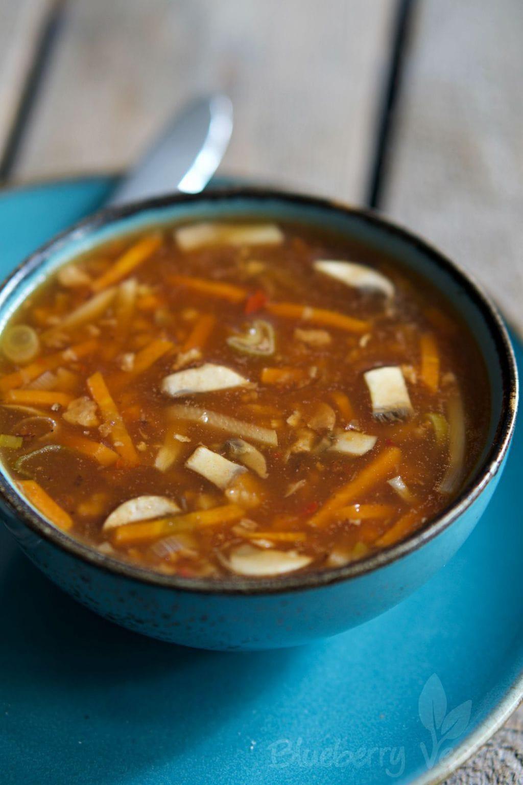 Vegane Pekingsuppe