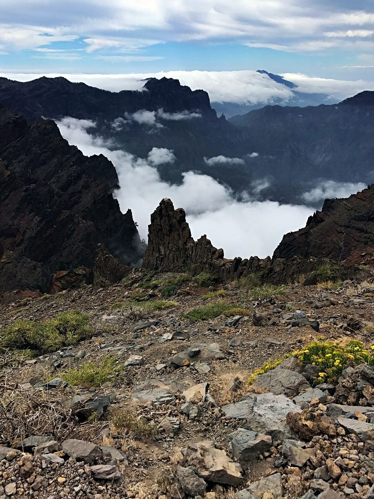 Hiking on La Palma – Along the Crater of the Caldera de Taburiente