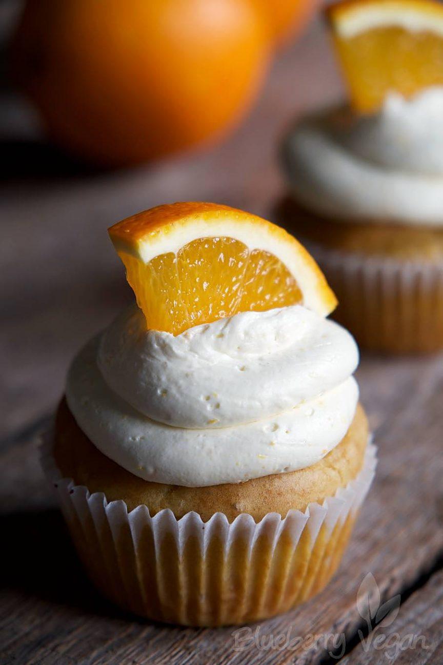 Fruchtige Orangen- und Zitronen-Cupcakes