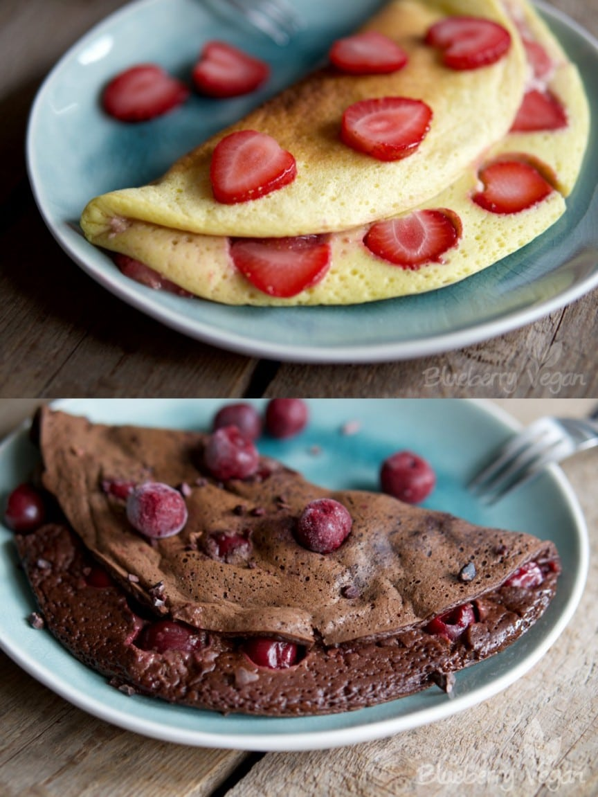 Sweet Vegan Omelets