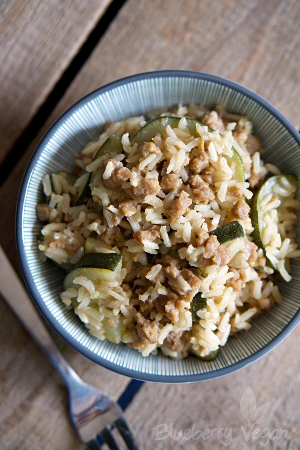 Delicious Zucchini Mince Rice Stir-Fry