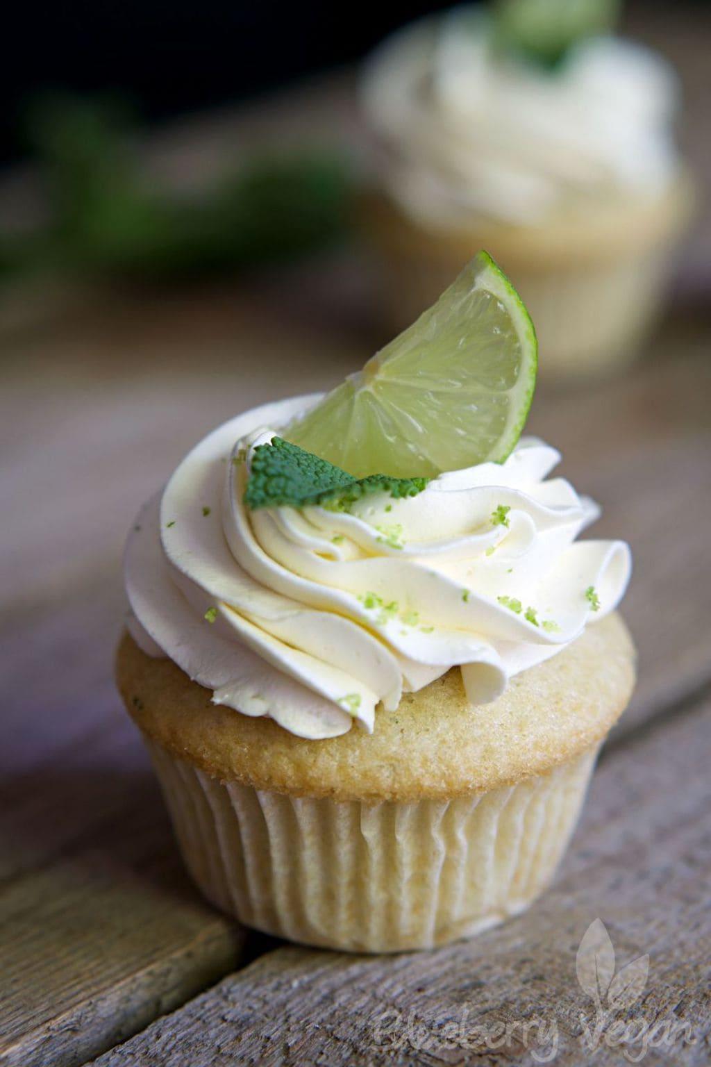 Fluffige Mojito-Cupcakes