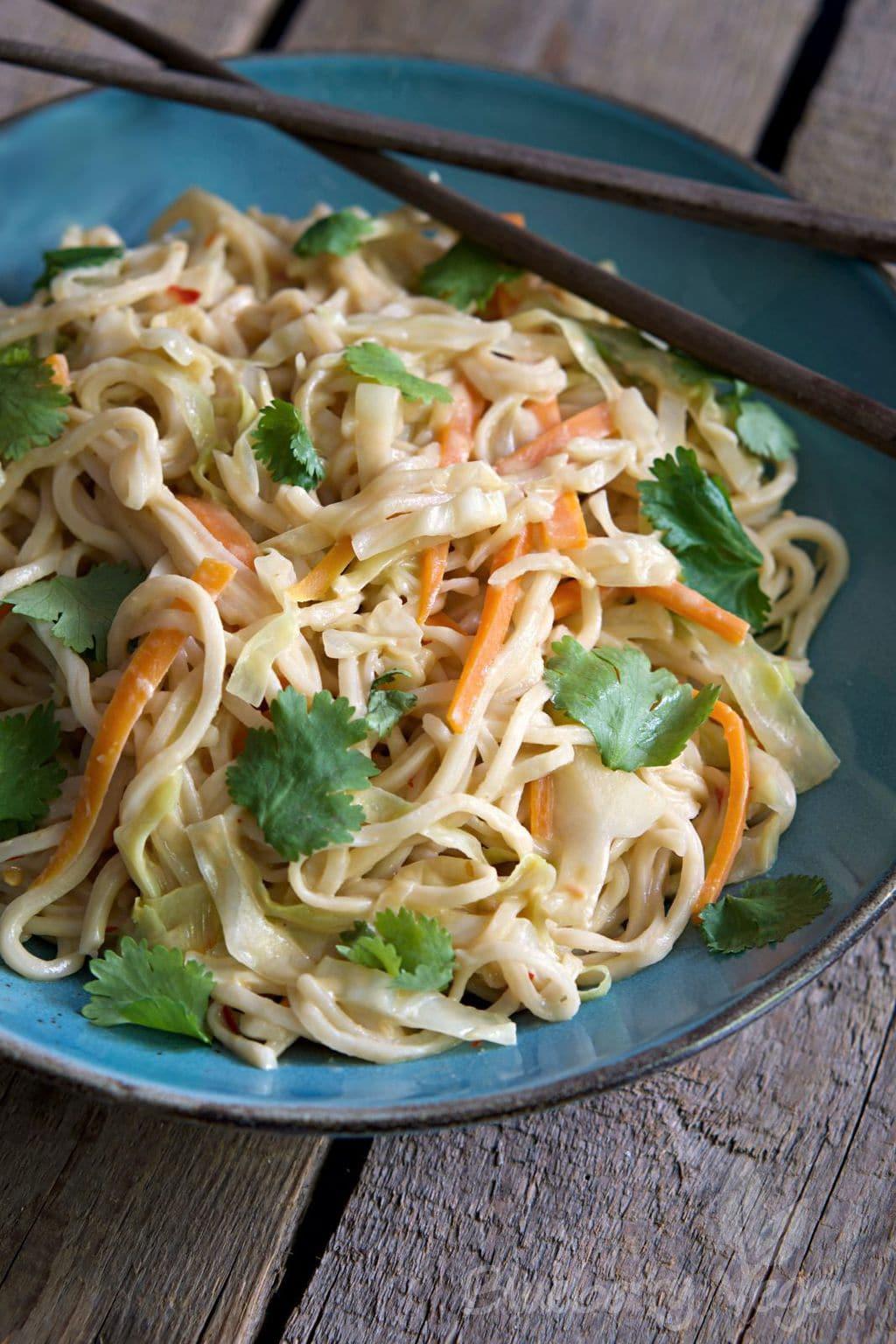 Cremige Thai-Pasta