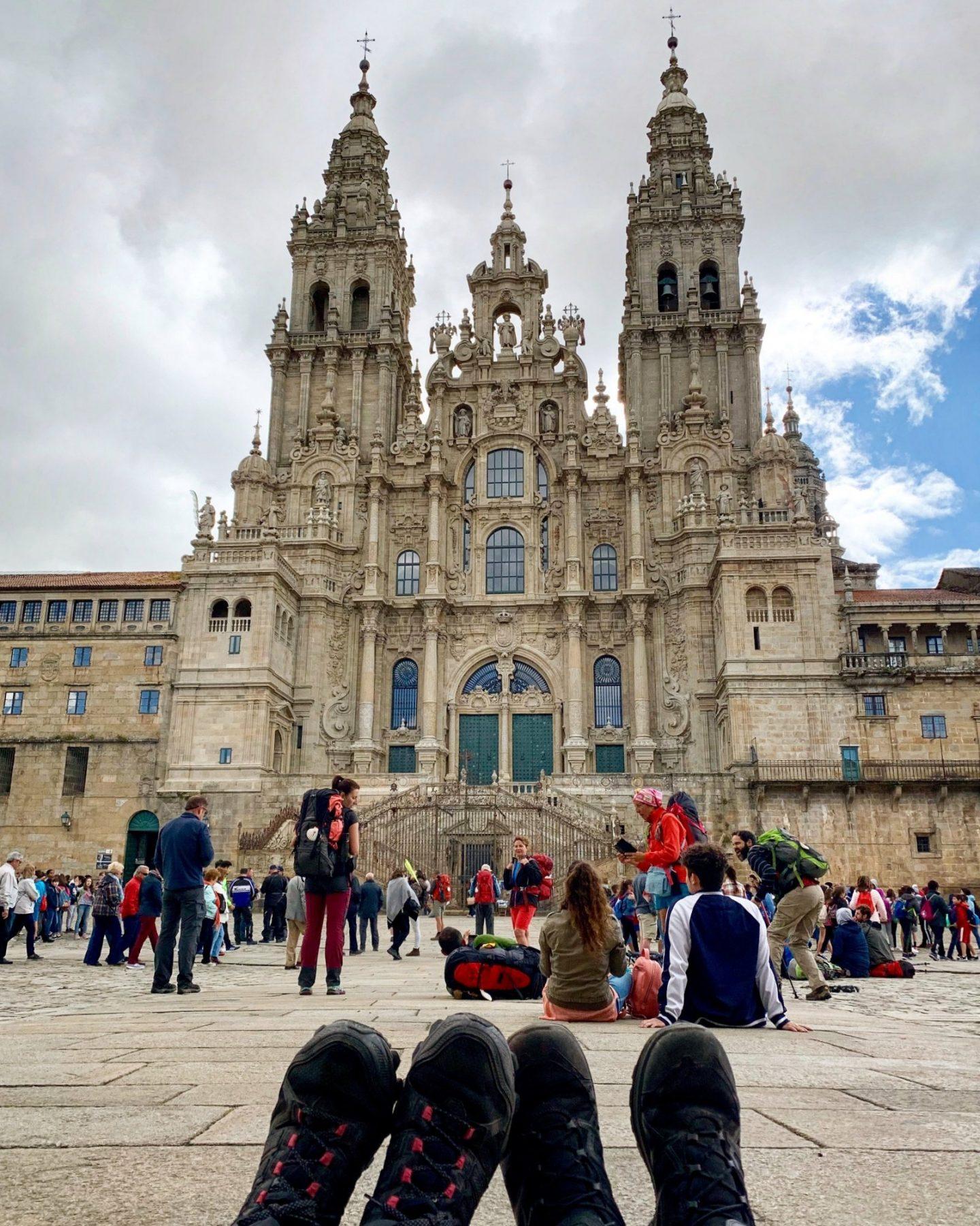 (Deutsch) Mein Camino Português – Von Teo nach Santiago de Compostela